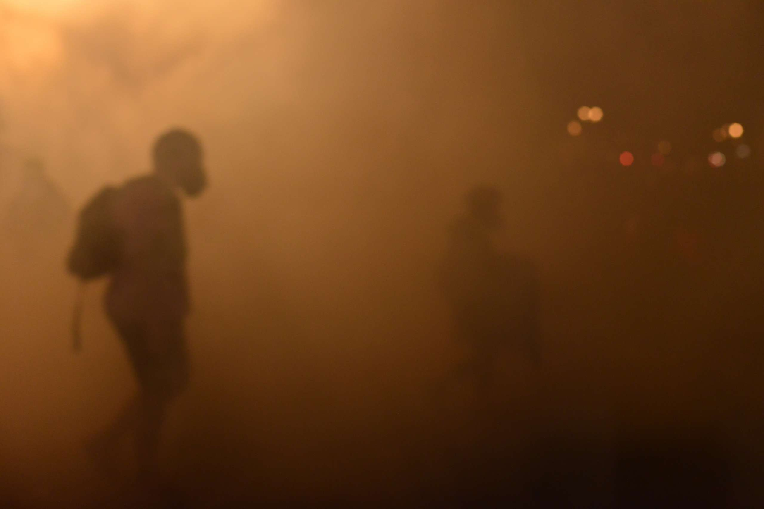 Coping with Tear Gas and Pepper Spray